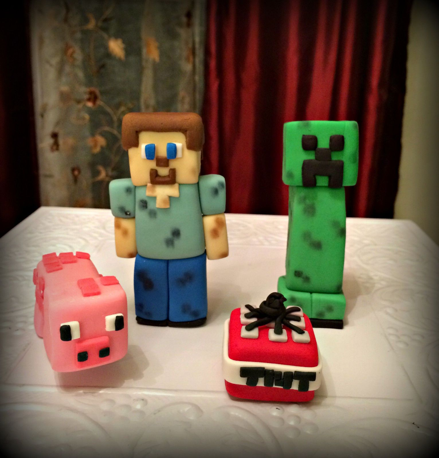 Clay Polymer Creeper Charms