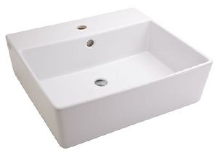 American standard loft hole above counter rectangular lavatory sink in white also