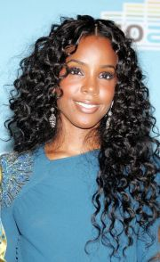 curly weave sew in hairstyles