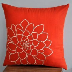 Dorm Chair Covers Etsy Portable Lounge Chairs The 25+ Best Orange Throw Pillows Ideas On Pinterest | Throws, Brown Couch ...