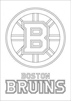 nhl hockey rink diagram printable 1995 ford explorer jbl wiring boston bruins logo coloring page   pinterest logos, and craft