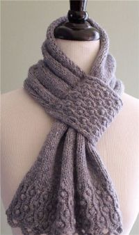 unique scarves ideas for women, knitting patterns - crafts ...
