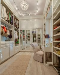 Beautiful Walk In Closet - Home Design