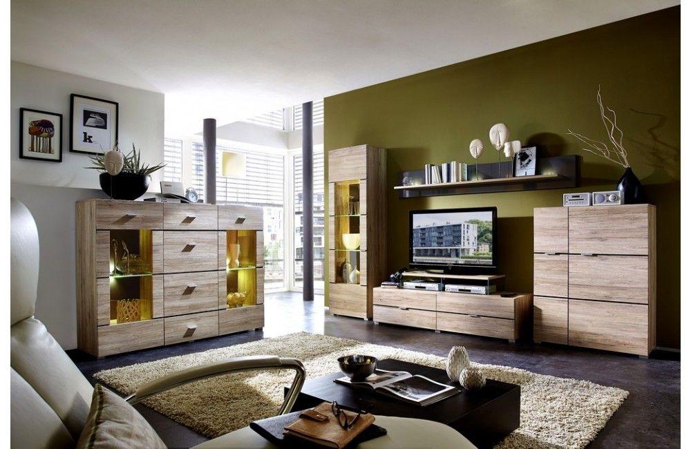 Meuble de salon moderne en bois  Ensemble meuble de salon en bois  Meuble et Canapecom