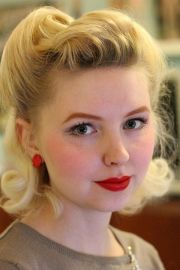 beautiful retro hairstyles