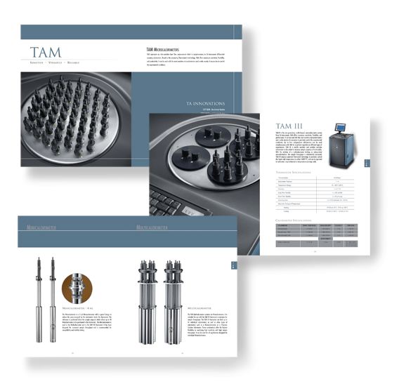Brochure Concept Design And Photo Direction For Instrument Company