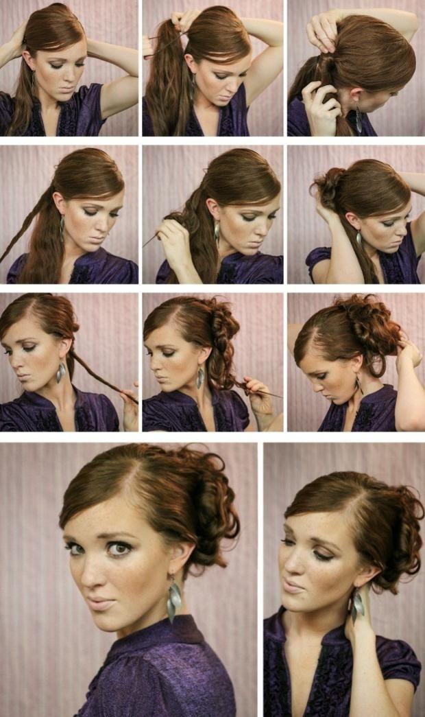 Locken Hochsteckfrisur Lange Haare Abend Frisur Pinterest