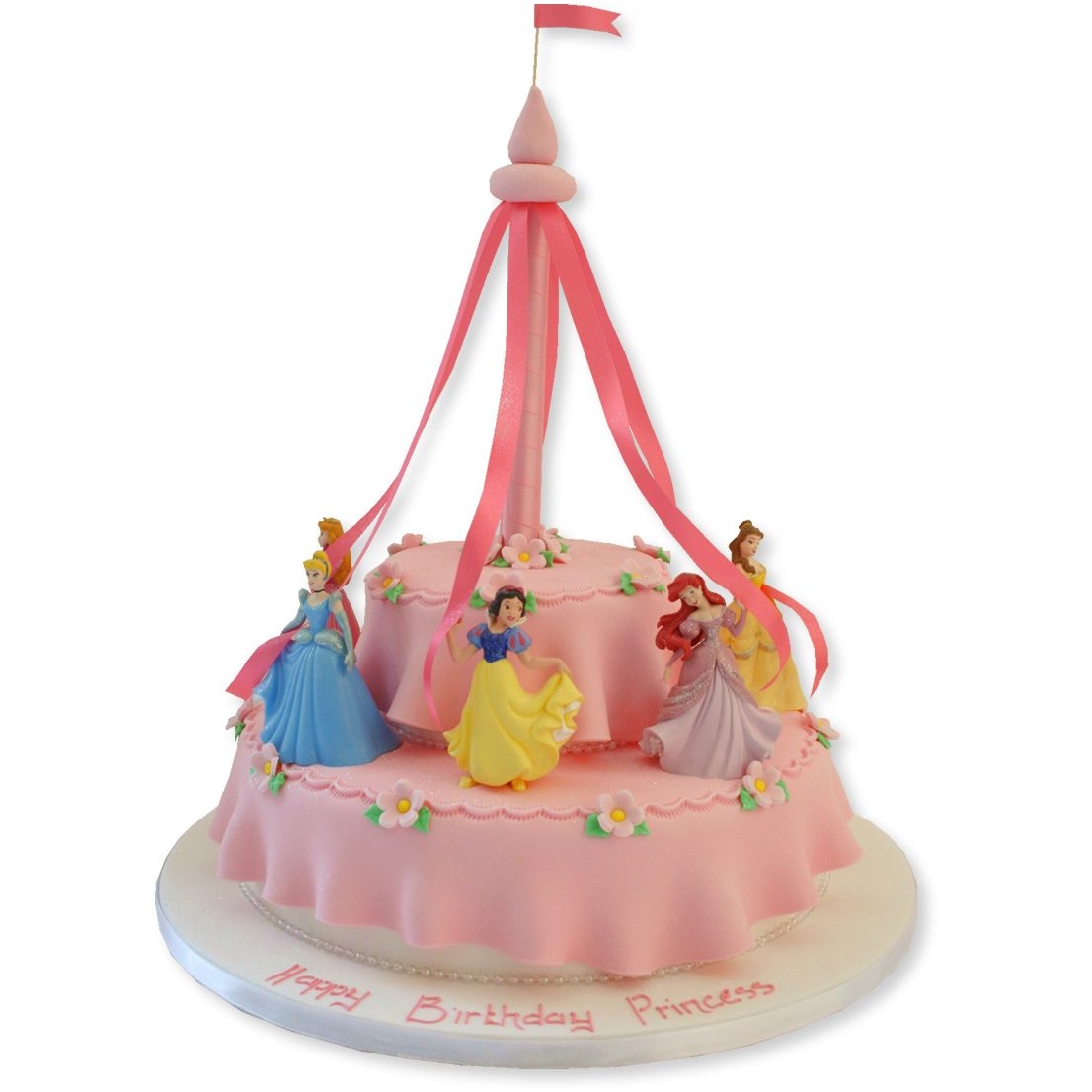 Disney Party Ideas Disney Princess Cake