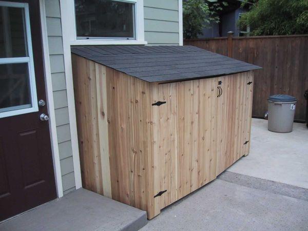 Storage Shed Side House