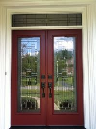 Provia Signet french entry door system with full light ...