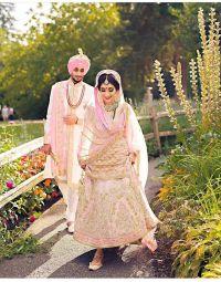 Punjabi Couple In Wedding Dress | www.imgkid.com - The ...