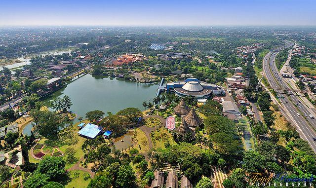 taman mini indonesia indah tmii or beautiful miniature park literally