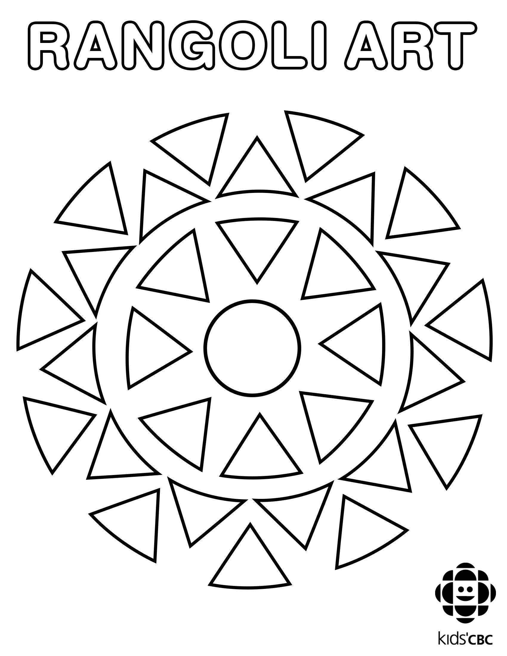 Basic Shapes Coloring Pages For Preschool