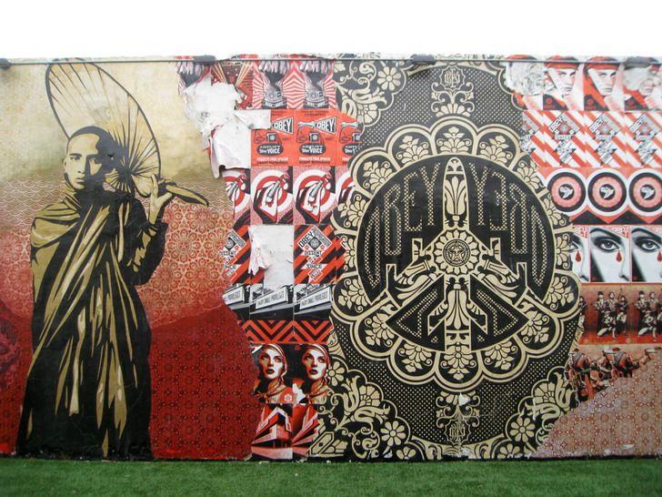 Cool Outdoor Wall Murals