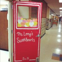 valentine door decorations for kindergarten