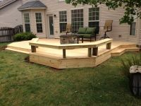 Nice Low level deck finished last week | Wood Decks ...
