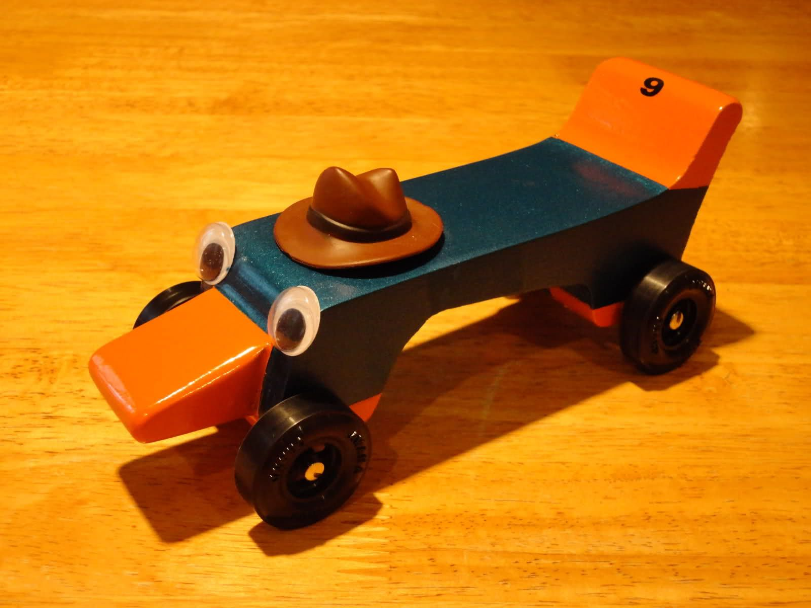 Perry The Platypus Car For The Awana Grand Prix Or The Cub