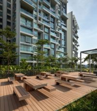 roof garden in Botannia residence in Singapore by MKPL ...