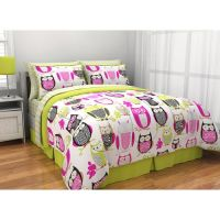 Get the Sketchy Owl Bed in a Bag Bedding Set at Walmart ...