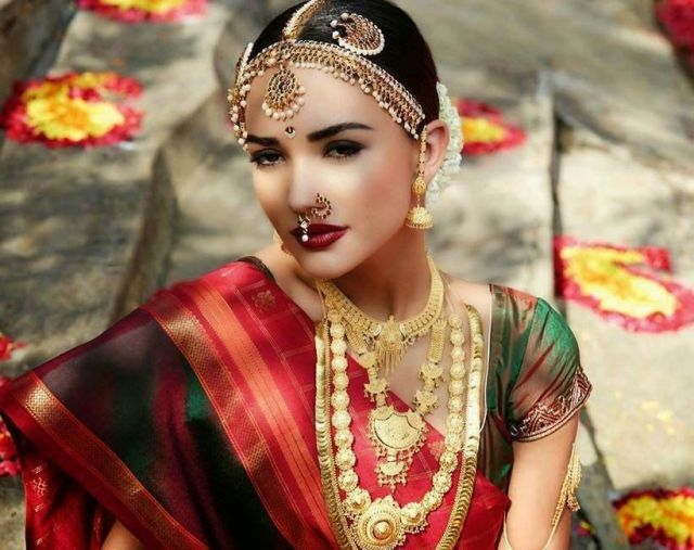 Indian bridal looks: Tamilian bride