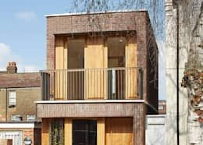 Street view of front garden and balcony scandinavian houses by satish jassal architects also top the most beautiful in london house
