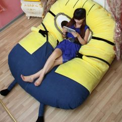 Monster High Bean Bag Chair French Country Dining Chairs Upholstered Sitzsack Minion Grijzemuren
