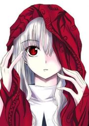 rose red anime hood