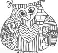Full hd coloring animals kids of desktop high quality too hard owl page pinteresu