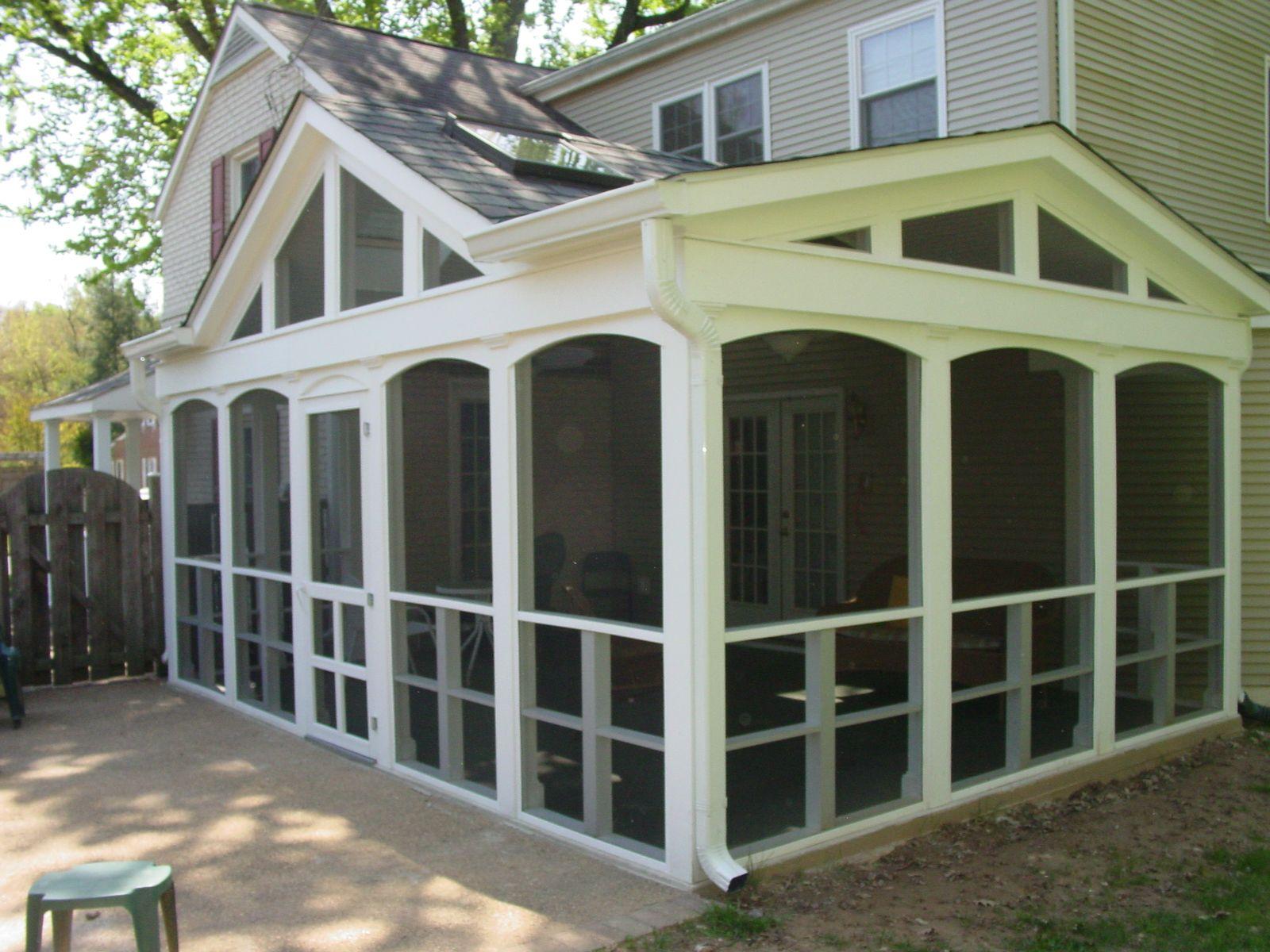 screened in porch ideas  Cook Bros 1 Design Build