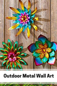 love outdoor metal wall art it is an amazing way to decorate your backyard or space the look of especially when you also rh pinterest