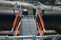 loading Ramp and Gangway for Tanker Truck | Loading Rack ...
