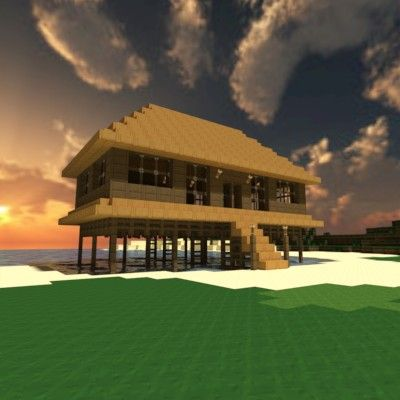 Beach House On Stilts Minecraft Project More Stilt Homes!! Can