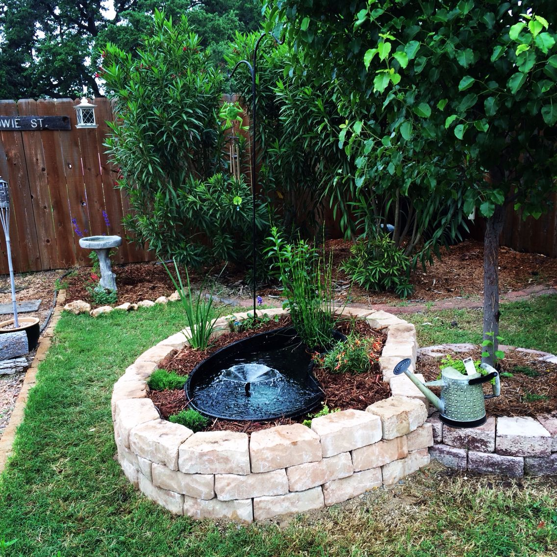Above Ground Pond Ideas