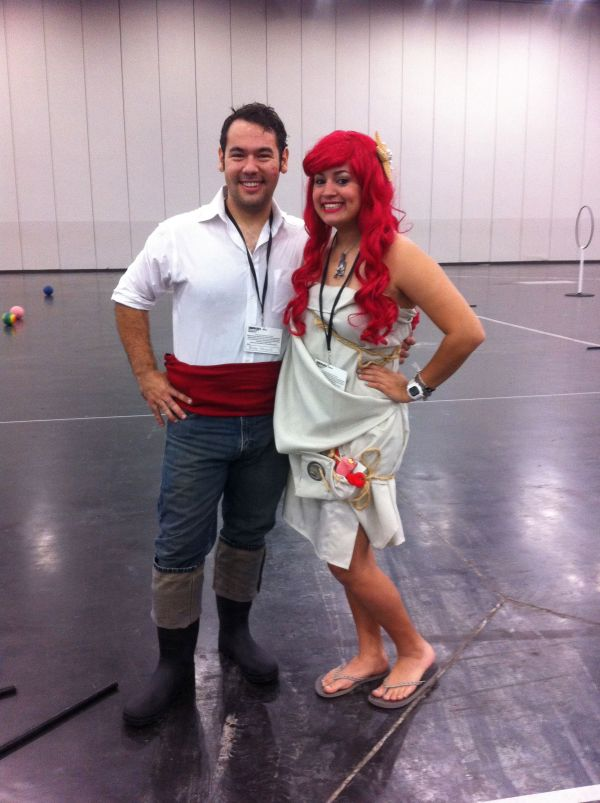Shipwrecked Ariel And Prince Eric Cosplay & Costumes
