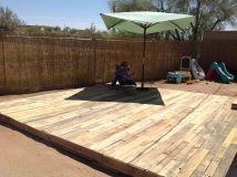 Wood Pallet Deck Total Cost 7. Blades