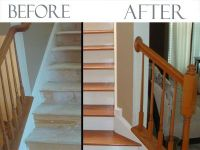 How To Replace Carpet With Wood Flooring On Stairs ...