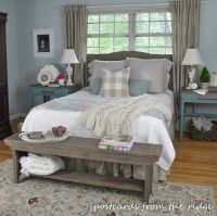 Summer Updates to the Master Bedroom | Farmhouse style ...