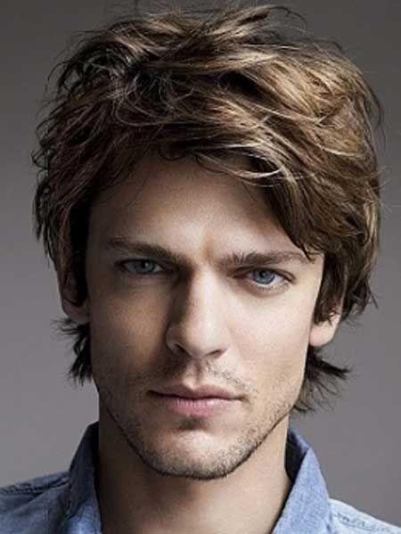 Easy Medium Length Hairstyles For Men Mens Medium Length