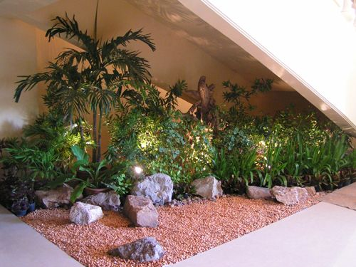 Love The Idea Of Creating A Garden In A Little Nook Inside Would