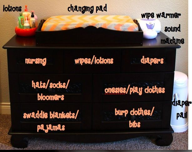Best 25 Organizing baby dresser ideas on Pinterest