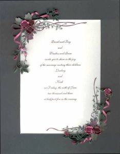 quilled wedding invitation featuring crimson roses  ribbons quilling cardsquilling ideaspaper also hey  found this really awesome etsy listing at https rh pinterest