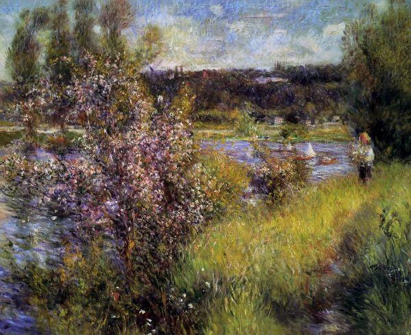 """ Seine Chatou"" French Painter Pierre-auguste"