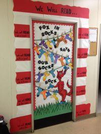 dr. seuss classroom decorations