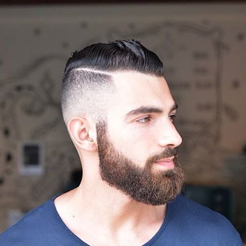 Men Airstyle With Beard 1 Haircut Pinterest Wus Select