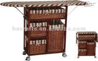 Foldable Wooden Storage Ironing Board in cabinet | For the ...