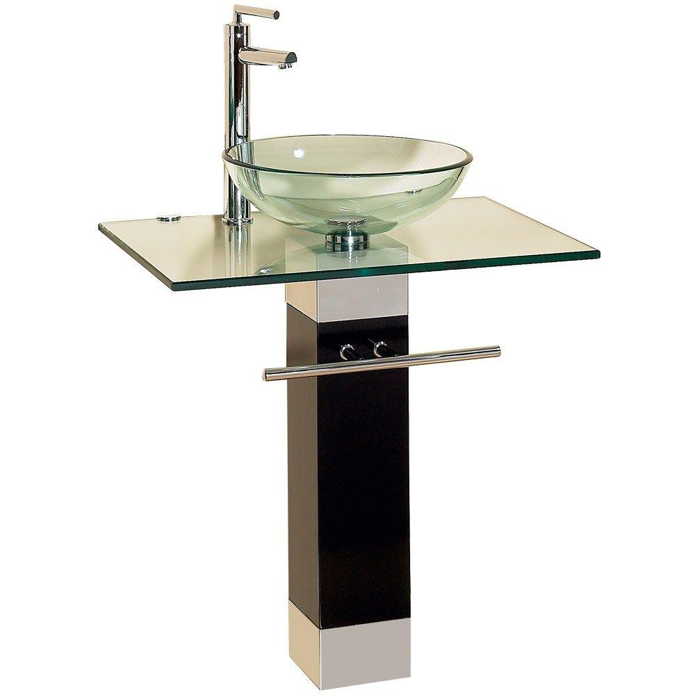 23 bathroom vanities tempered glass vessel sinks combo