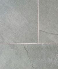 Dalian Grey riven slate flooring and wall tiles. Available ...