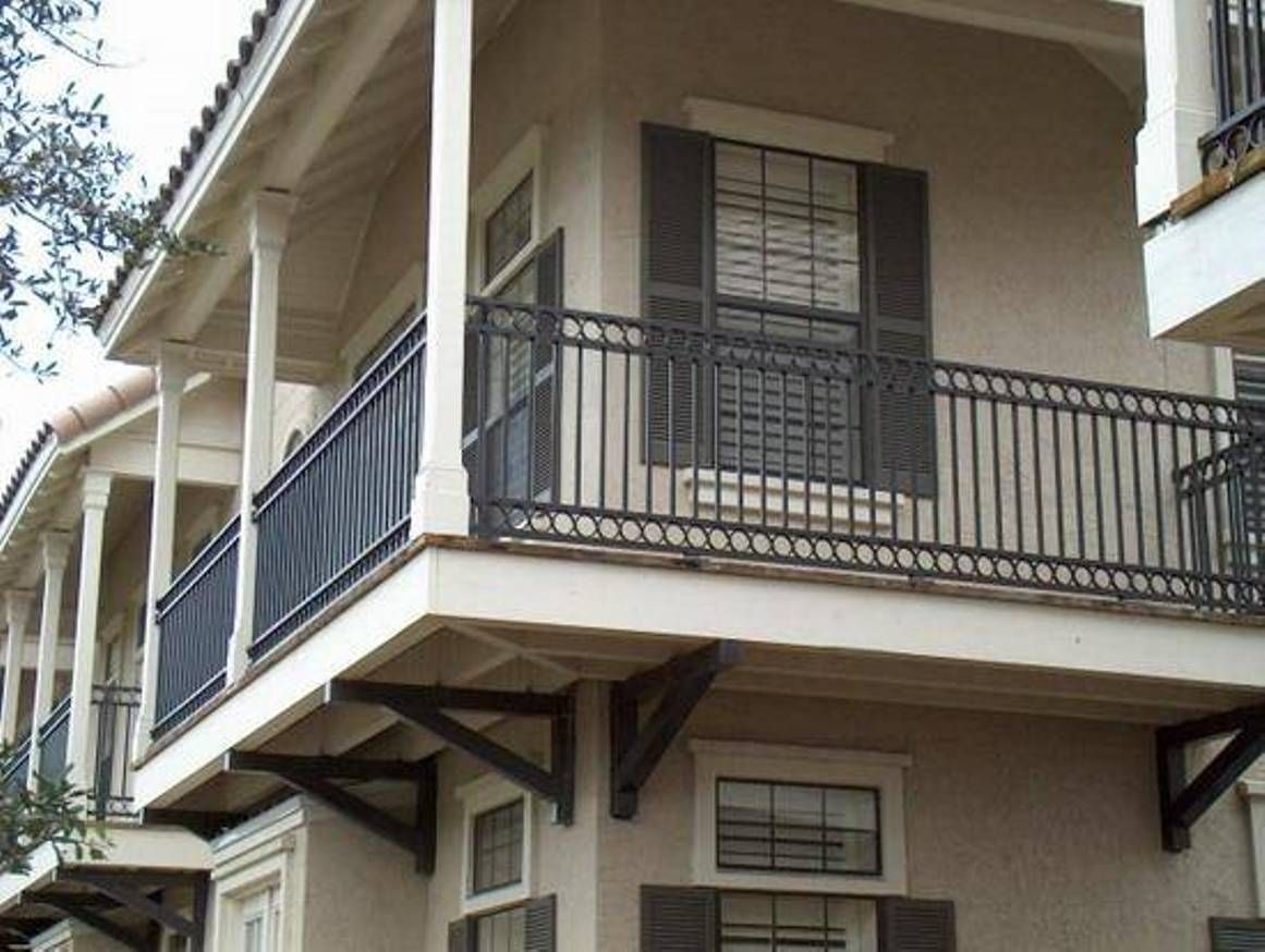 Landscaping And Outdoor Building , House Balcony Railing