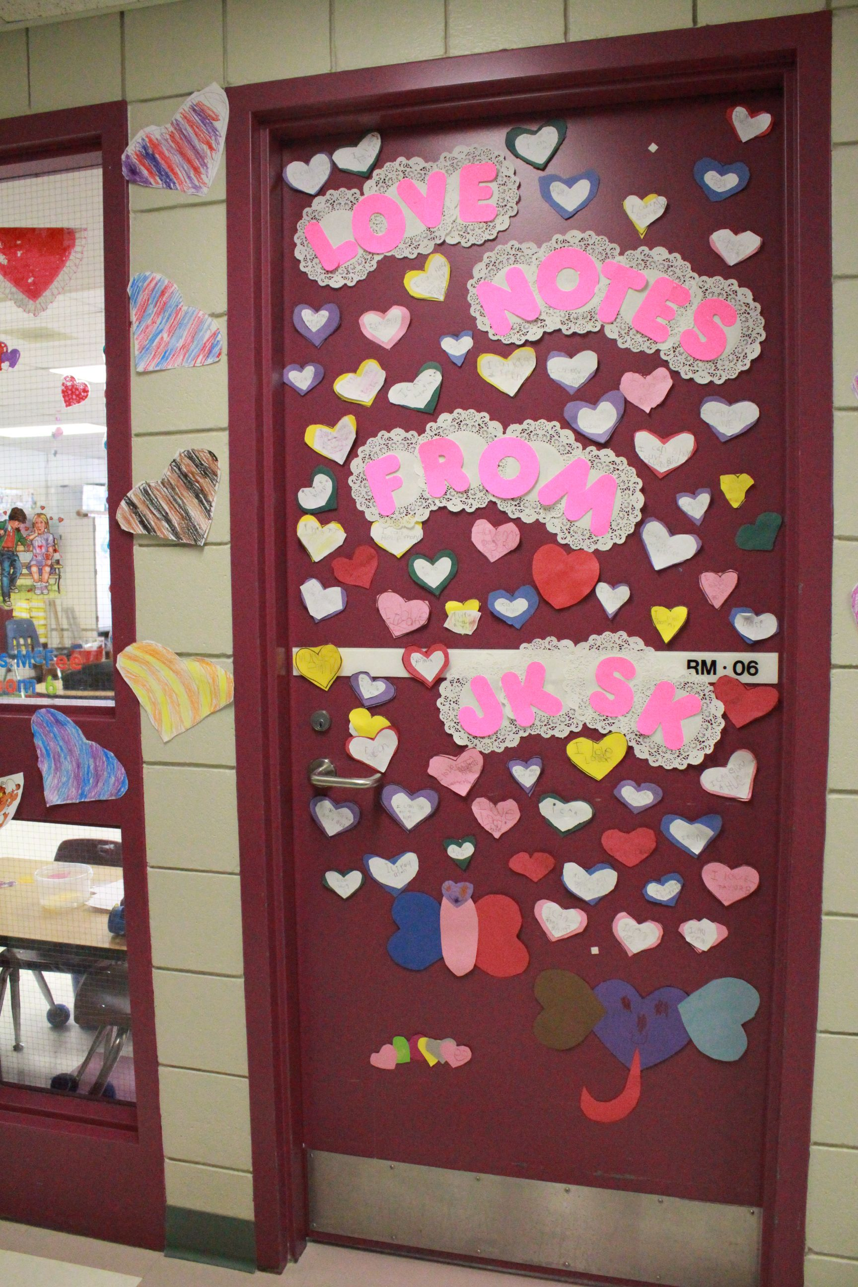 Classroom Door Decorations For Valentines Day Valentines