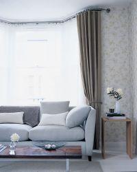 The 25+ best Bay window curtain rail ideas on Pinterest ...
